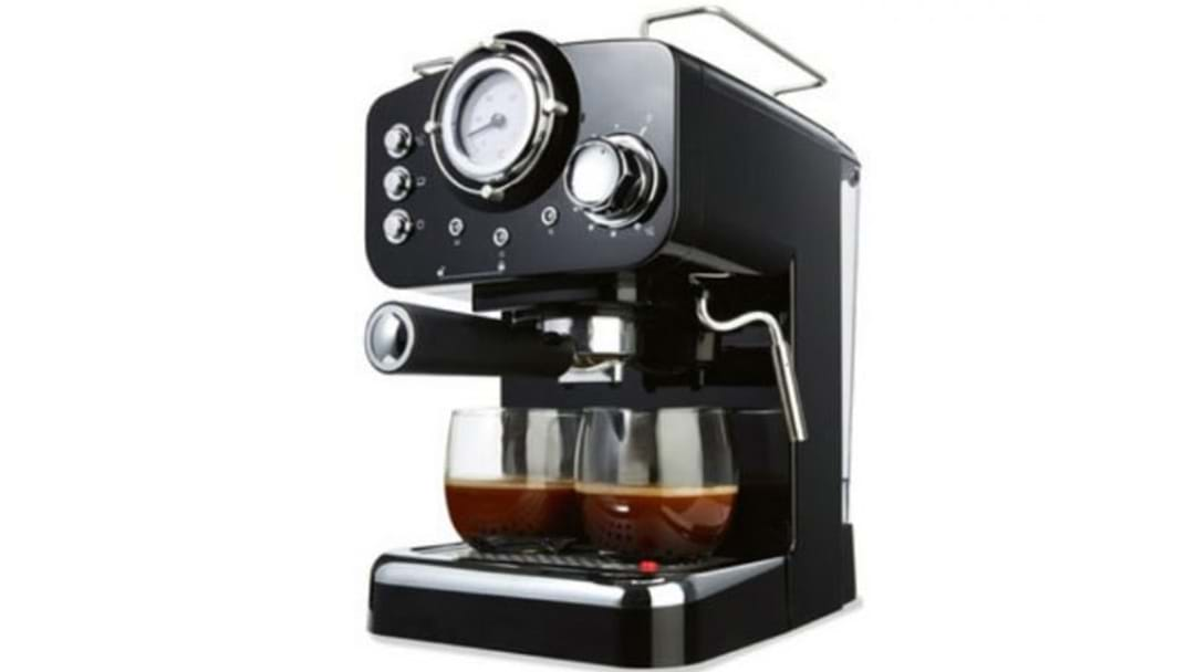 Everyone's Going Crazy For This $89 Kmart Coffee Machine