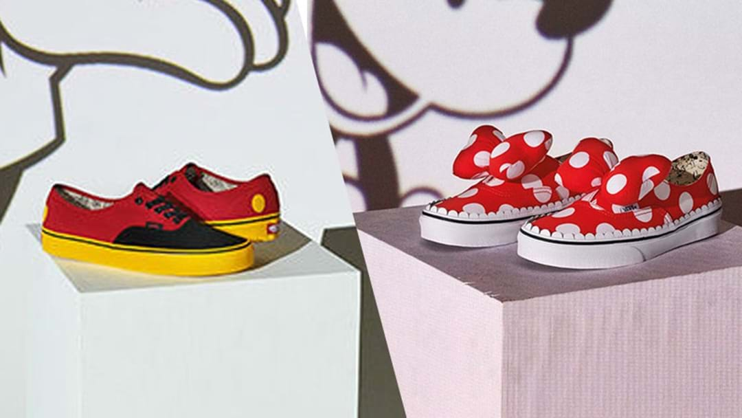 Disney VANS Exist So You Can Be The Kid With Pumped Up Kicks