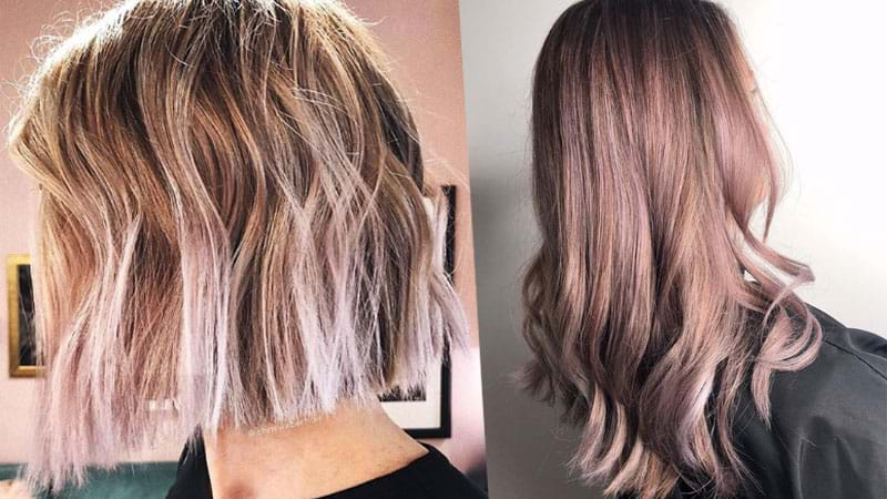 Article heading image for 'Vanilla Lilac Hair' Is Your New FAVE Summer Trend!