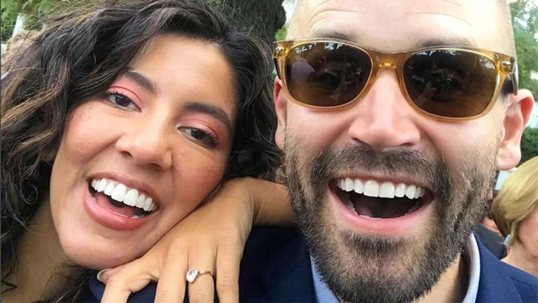Stephanie Beatriz aka Rosa Diaz Just Got Married!