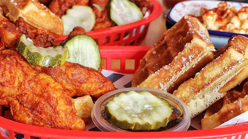 Article heading image for Belle's Hot Chicken Has Finally Opened In The City So Cancel Your Lunch Plans