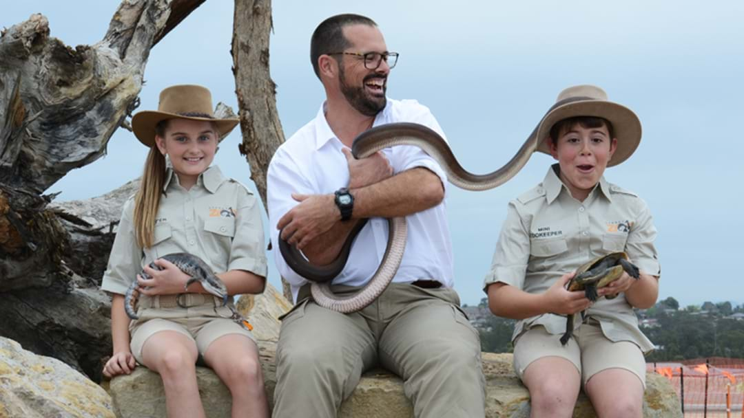 Sydney's Newest Zoo Is Looking For Mini Zookeepers!