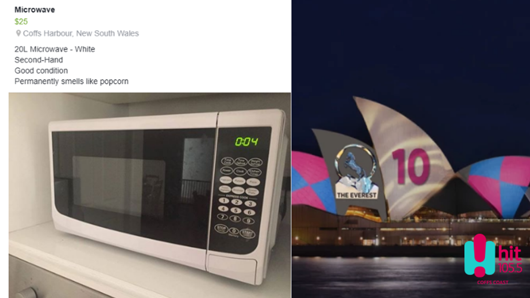 A.B Wants to Sell her Microwave Alan Jones Style!