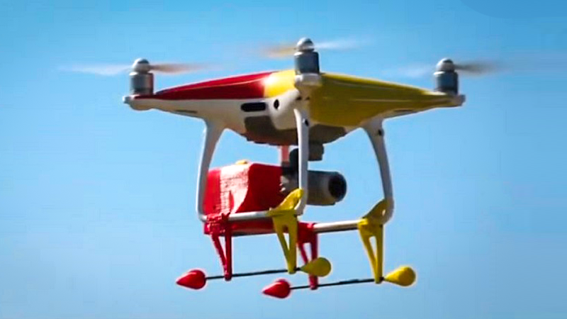 Article heading image for Drones That Can Spot Sharks To Be Used At Avoca Beach This Summer!