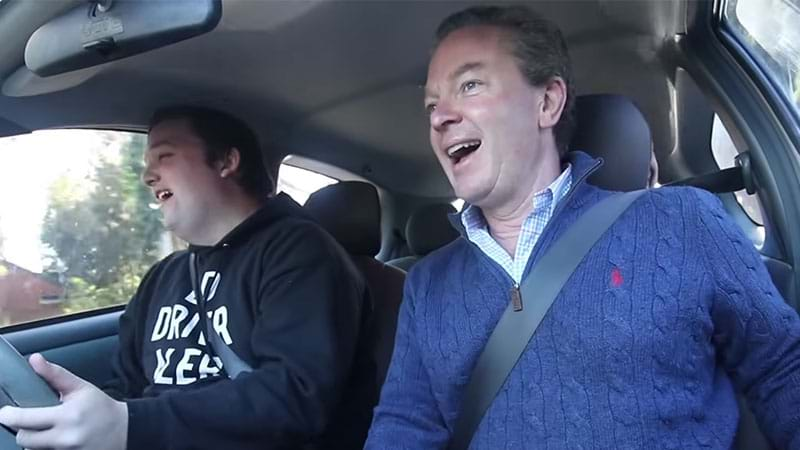 Article heading image for Adelaide Kid Learning To Drive Manages To Get Christopher Pyne Into His Car