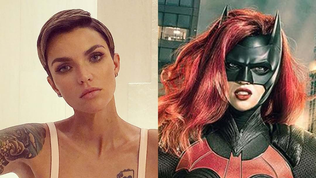 Here's Your First Look At Ruby Rose As Batwoman!