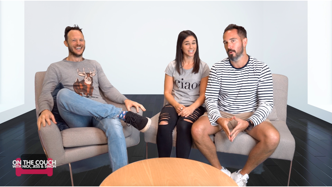 Ep. 1 - ON THE COUCH with Nick, Jess & Simon