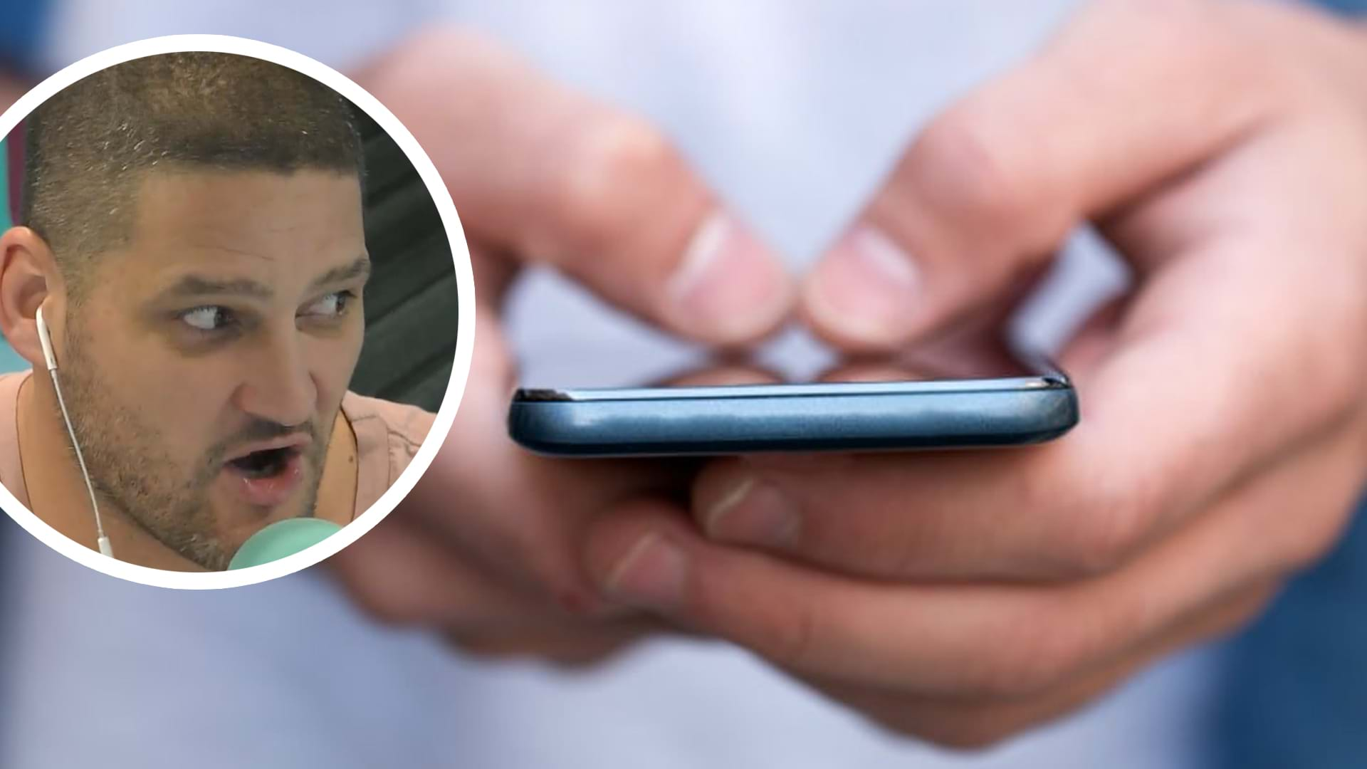 Article heading image for Fev Announces On Air That He Accidentally Added Someone In His Group Chat And They Were Listening!
