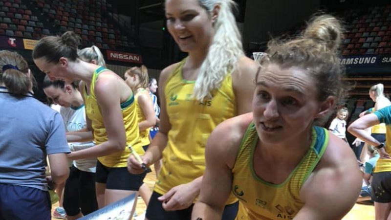 Article heading image for International Netty Taking To The Court In Townsville Tonight