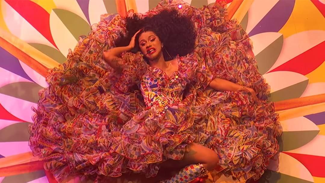 Watch Cardi B Slam Dunk Her AMA's Performance