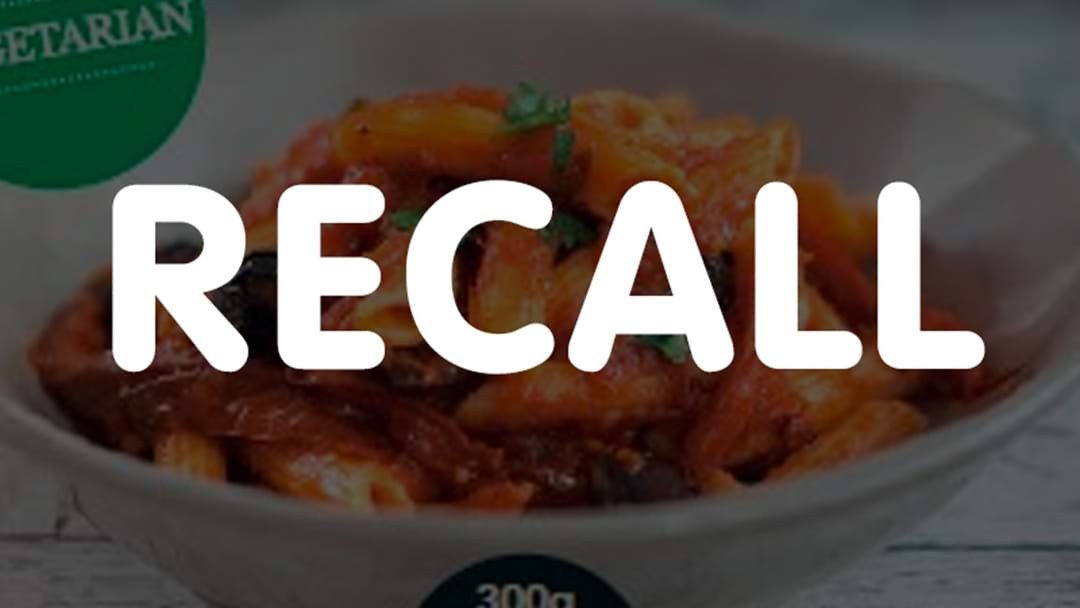 RECALL: Certain Pasta Product Recalled After Incorrect Use-By Date Printed