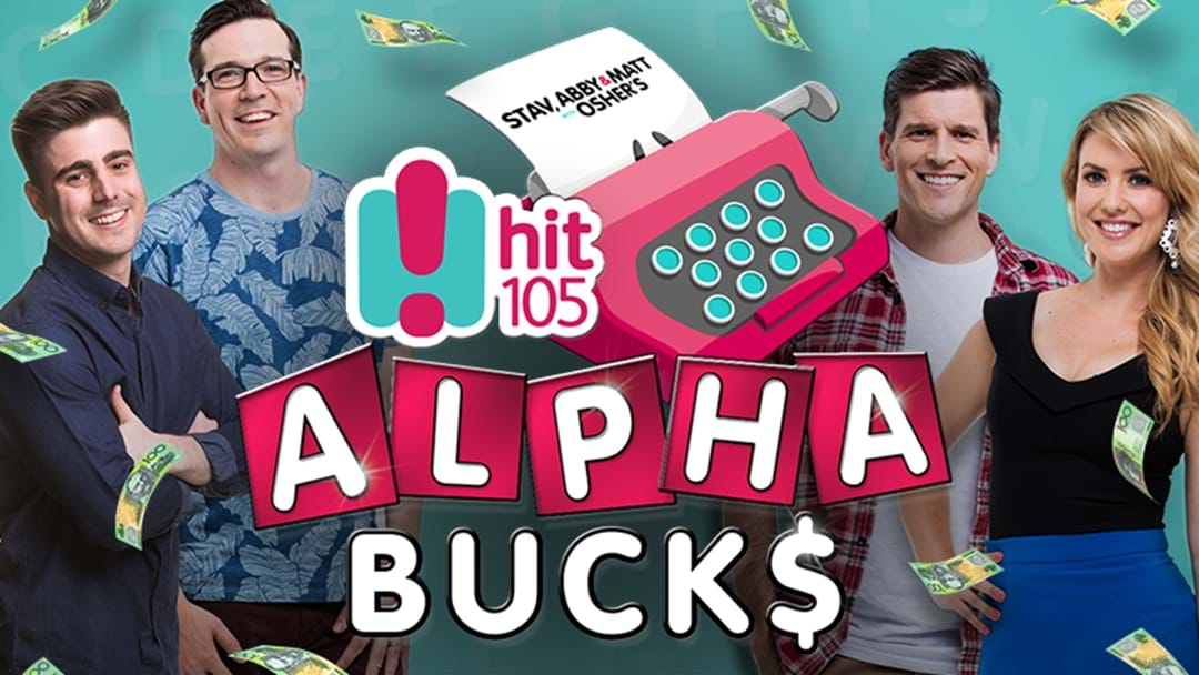 Stav, Abby & Matt with Osher's $10,000 ALPHABUCKS!