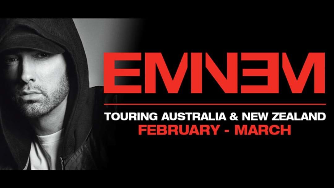 Eminem Announces Aussie Tour!