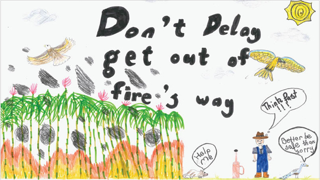 Artwork From North Queensland Kids In The Farm Safety Calendar Is The Cutest Thing