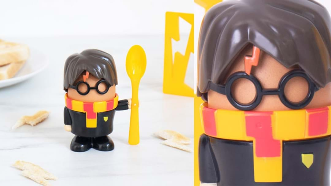 These Harry Potter Egg Cups Will Have Your Kid Screaming Eggs-pecto Patronum