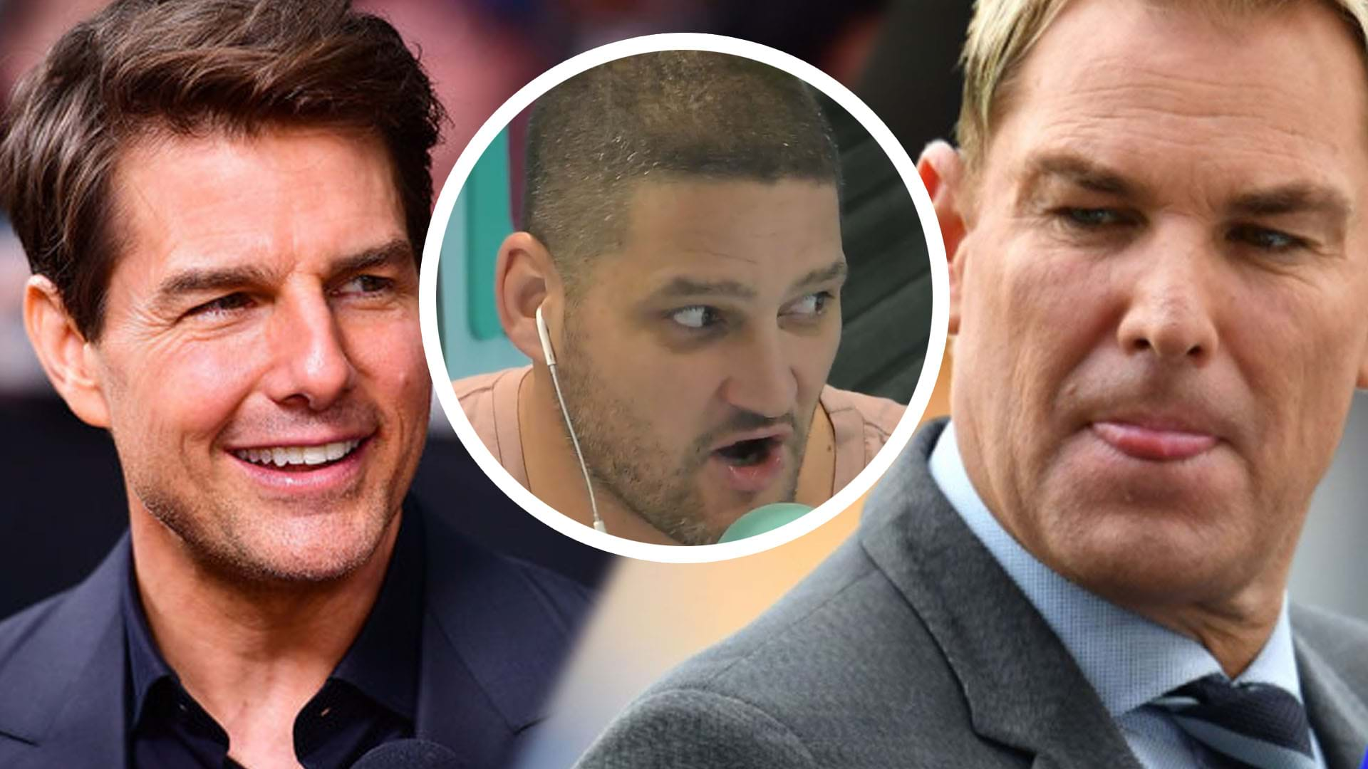 Article heading image for Shane Warne Tells Fifi, Fev And Byron About His Interesting Moment With Tom Cruise