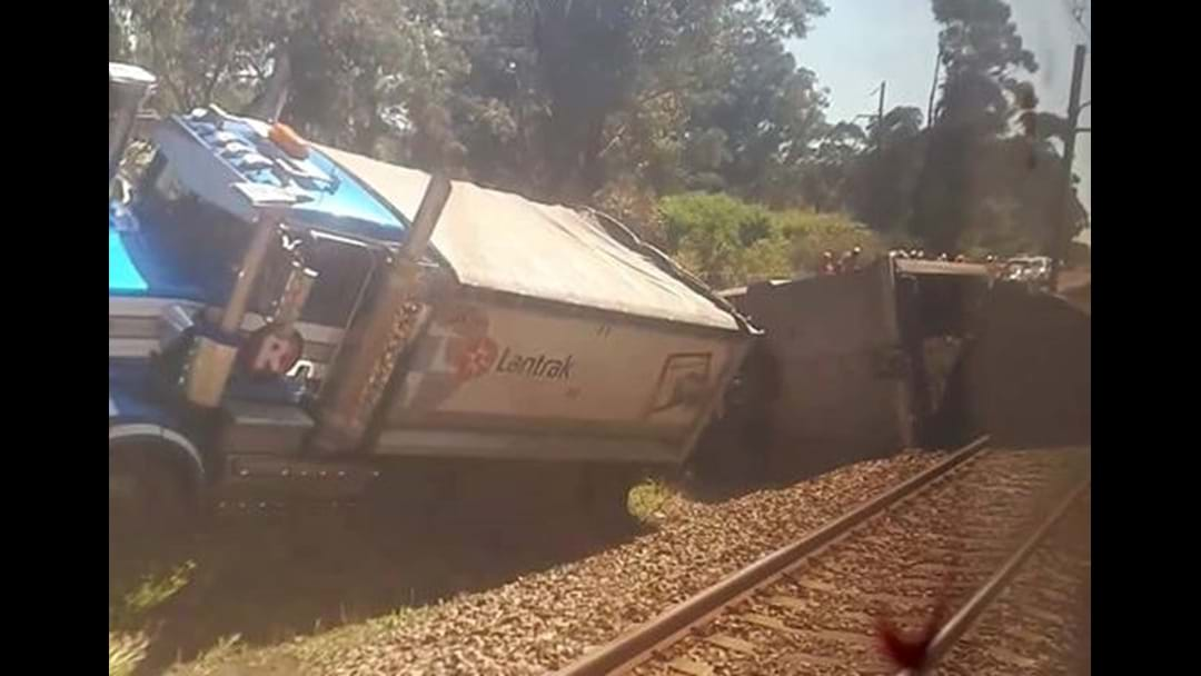 Train Delays Continue After Coast Truck Rollover