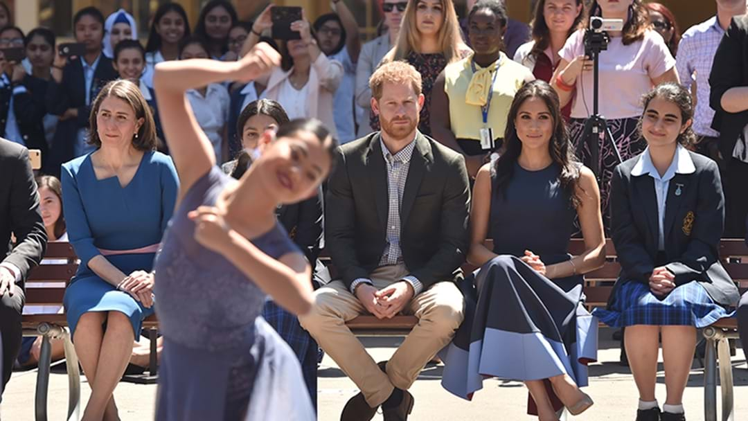 Prince Harry And Meghan Have Visited A School In Parramatta!