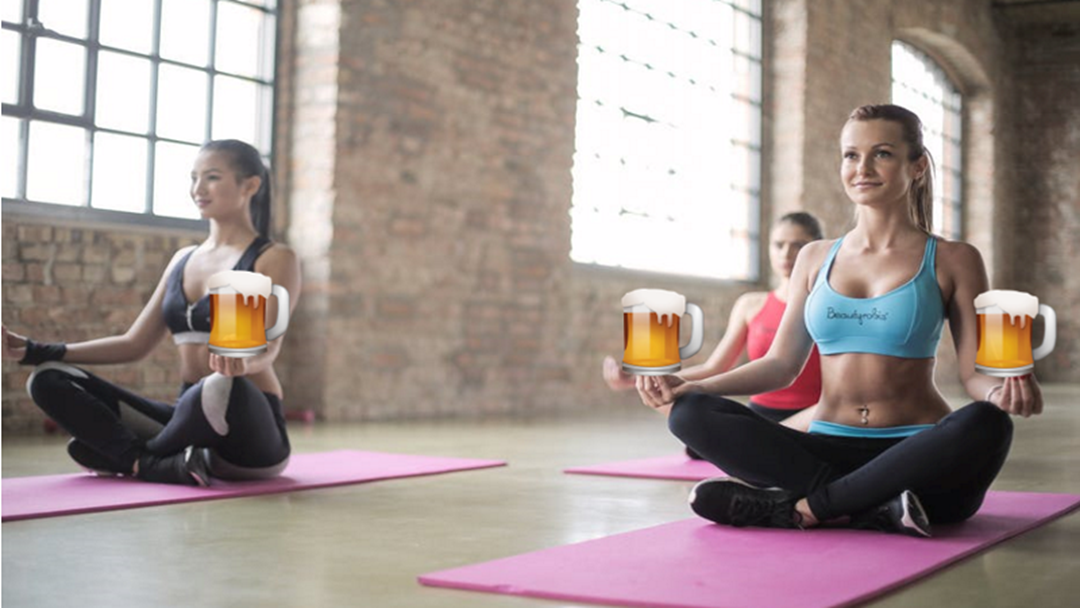 Shout Out To Townsville Yogis, A 'Beer n Bend Yoga Class' Is Coming