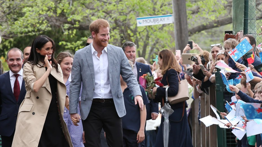 The Duke And Duchess of Sussex Have Arrived In Queensland