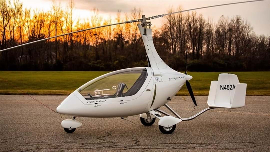 REPORTS: Gyrocopter Falls From Sky Over Coast