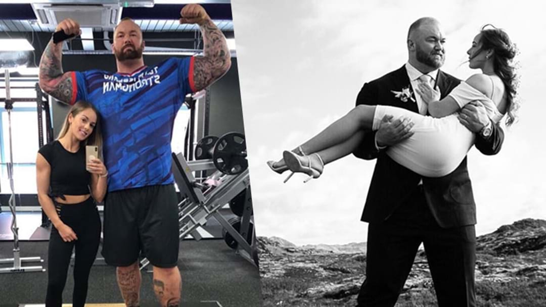 GOT's 'The Mountain' Got Married & Everyone Keeps Asking How 'It' 'Works