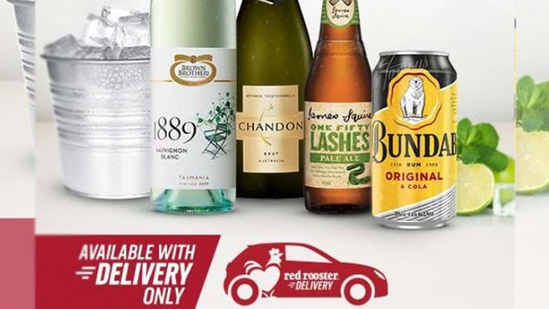 Red Rooster Just Added BOOZE To Their Delivery Menu, So Bottoms Up!