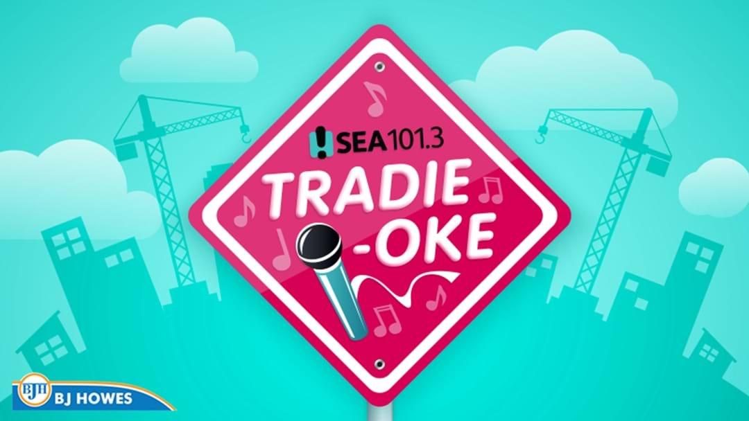 And The Winner Of Sea FM's Tradieoke is...