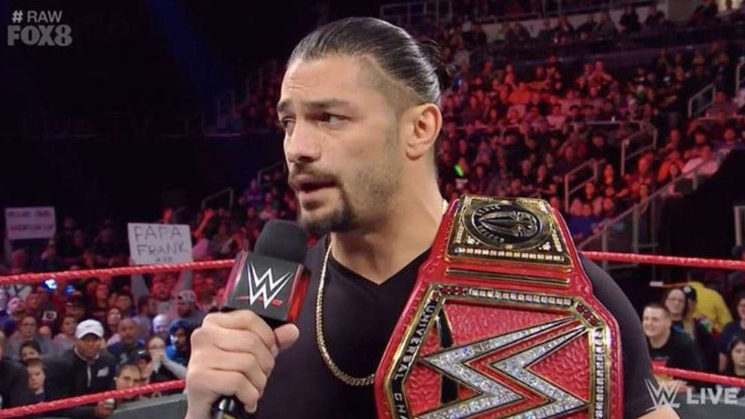 WWE Star Roman Reigns Reveals He Is Battling Leukemia