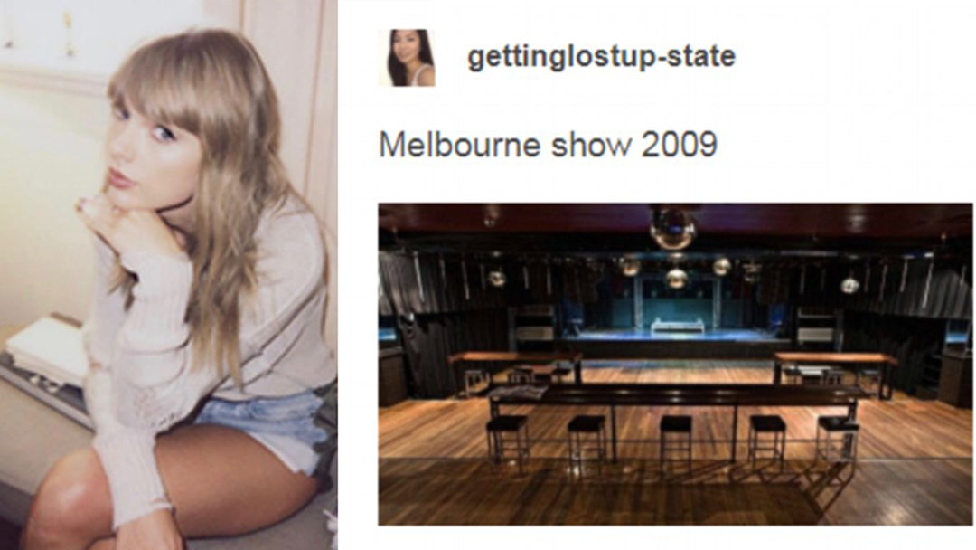 Taylor Swift Shares An Emotional Melbourne Memory With Her Fans
