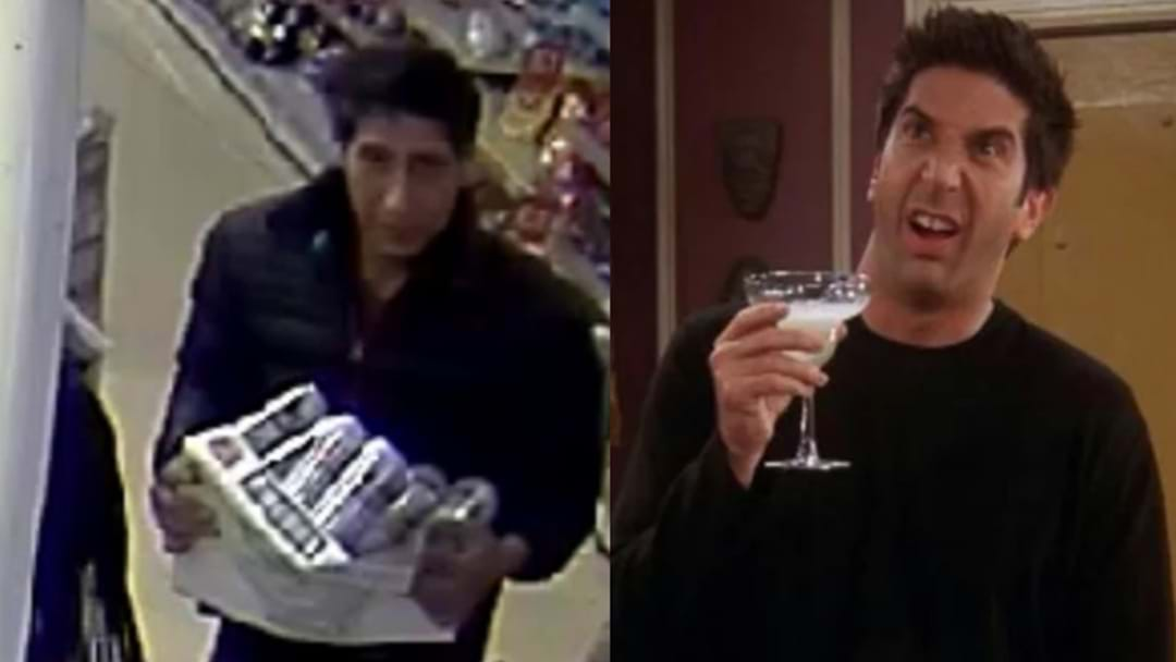 A Guy Who We're Sure Is Ross From Friends Is Wanted By UK Police
