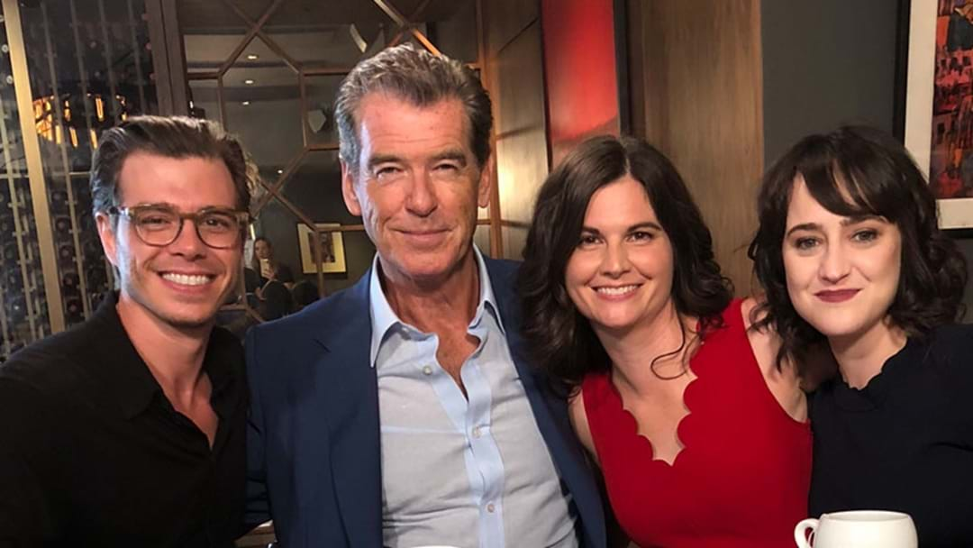 Pierce Brosnan Reunited All The 'Mrs Doubtfire' Kids & We Feel VERY Old Now