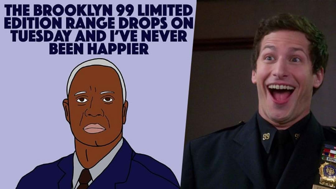 BINGPOT: A Limited Edition 'Brooklyn Nine-Nine' Clothing Line Is About To Drop!