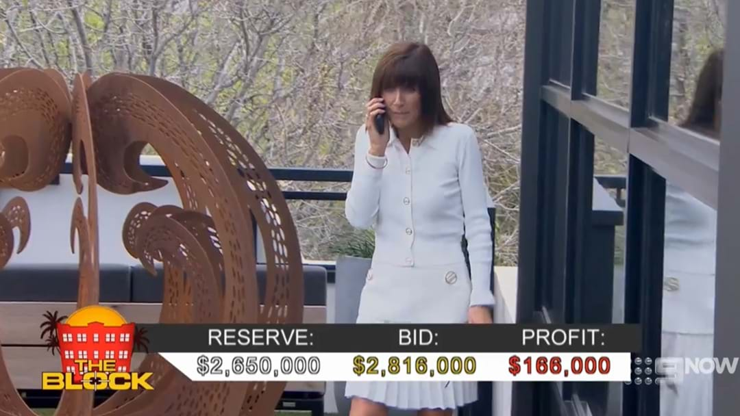 Revealed Who Nicole Was Talking to On the Phone During The Block Auction