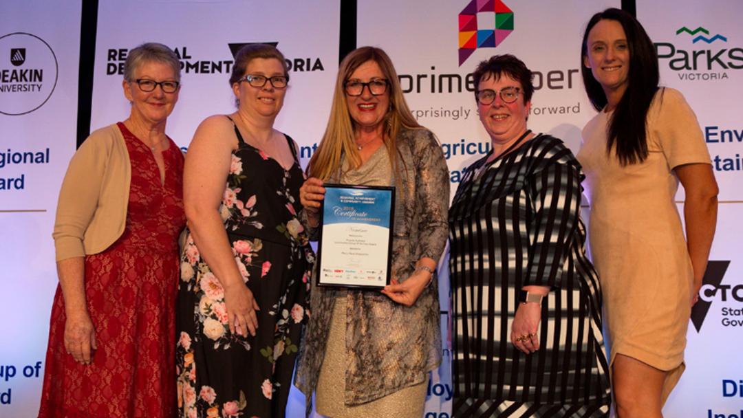 Mercy Place Shepparton Presented At Prestigious Regional Victorian Awards Night