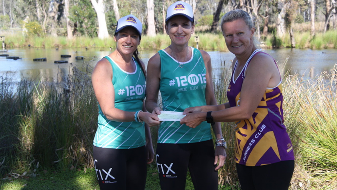 Shepparton Running Festival Presents Donations To Two Local Charities