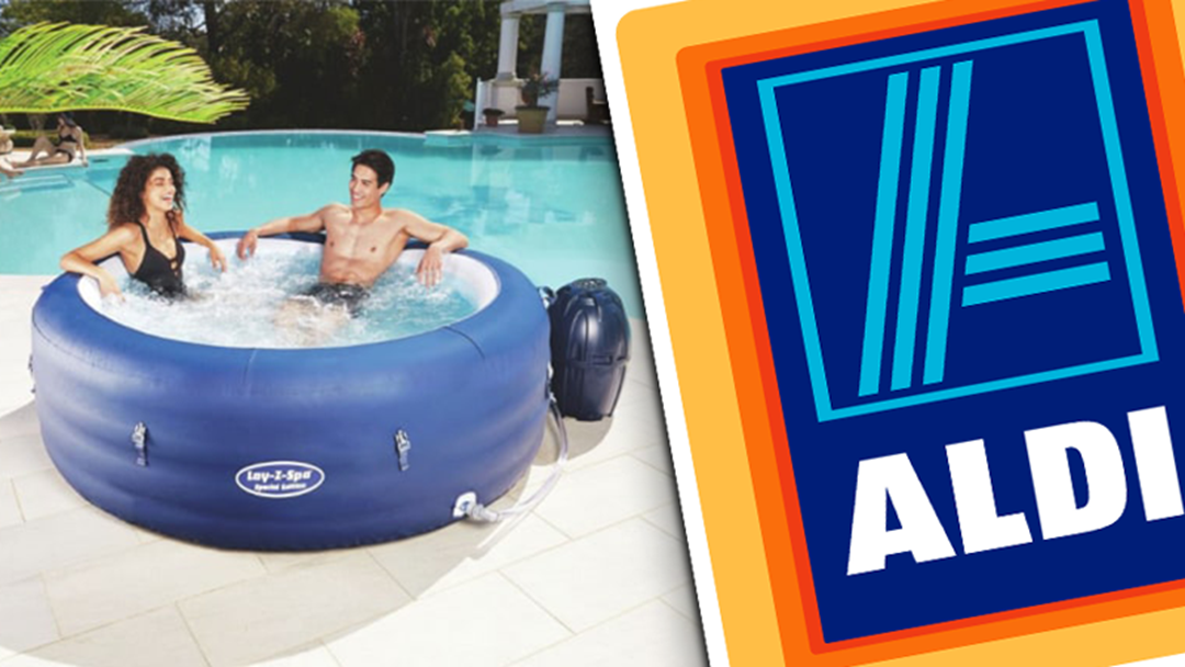 Grab Yourself A Box Of Green Apple UDLs 'Cause Aldi's Selling A Six-Person Spa For $499