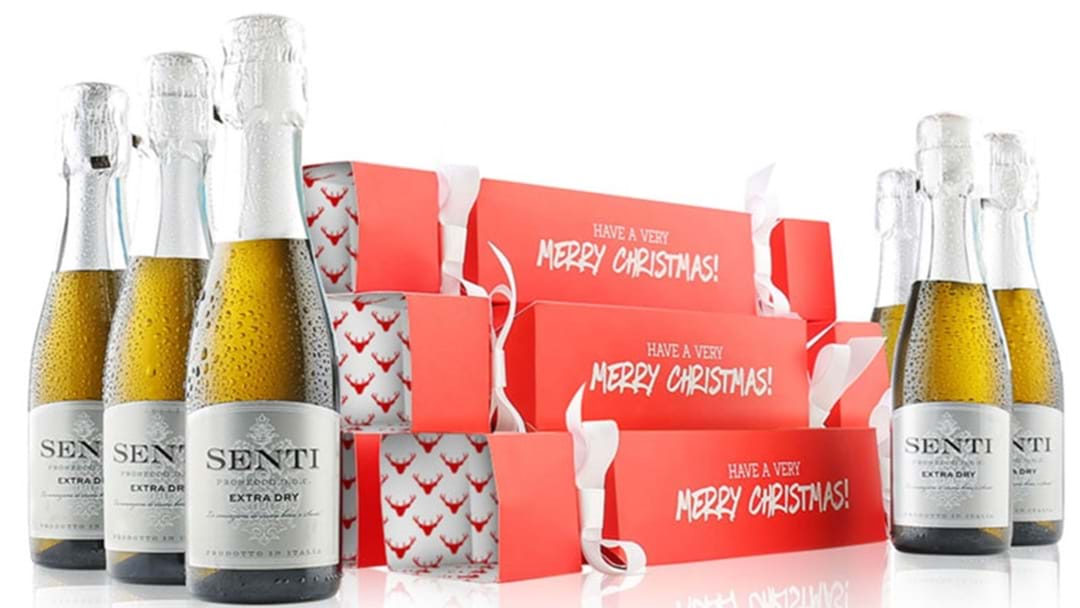 Alcoholic Christmas Crackers Exist To Booze Up Your Xmas Day