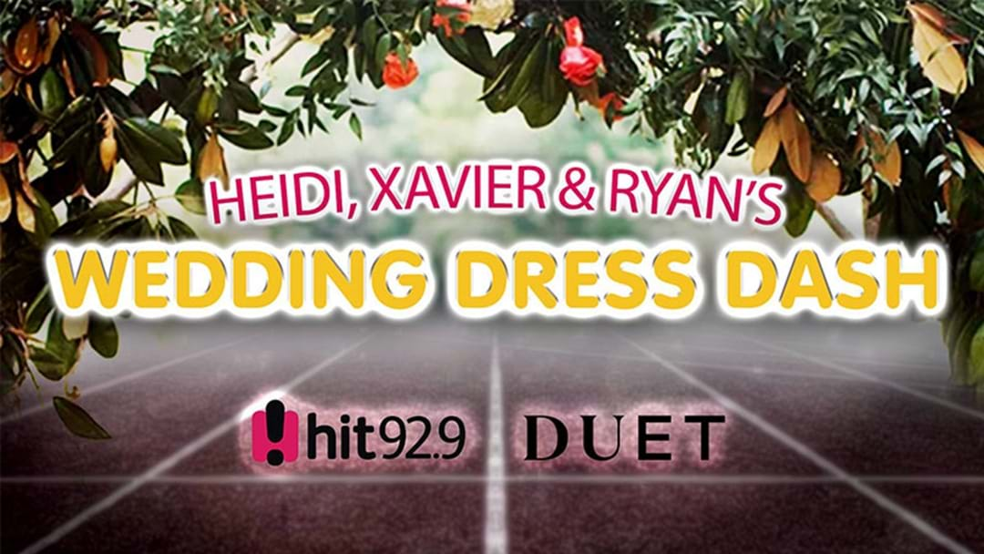 We're Looking For Someone To Sing The National Anthem At Our 'Wedding Dress Dash'!