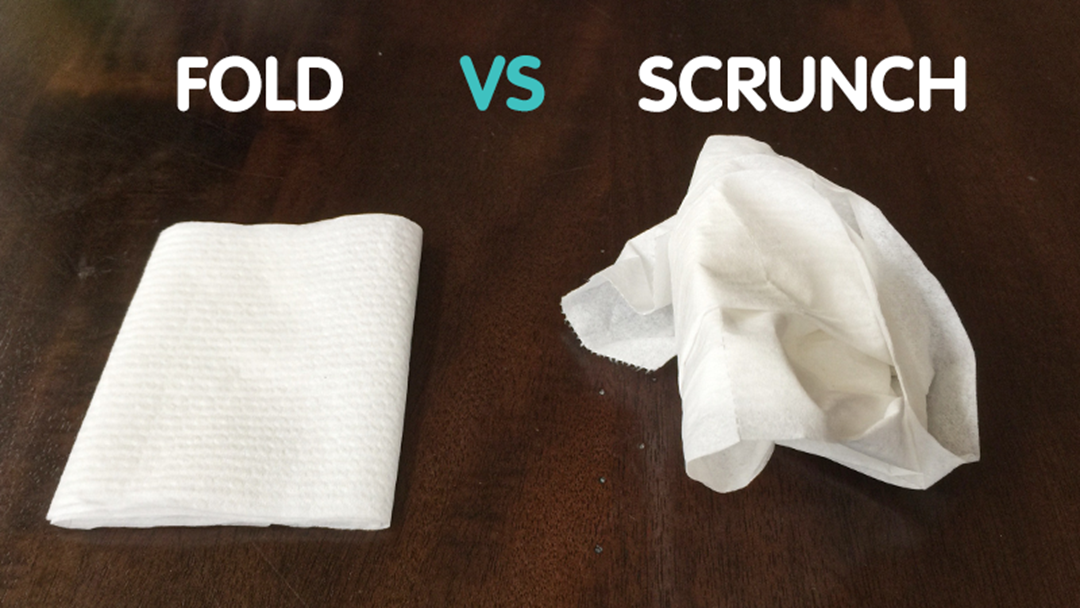 Do You Fold Or Scrunch Your Toilet Paper?