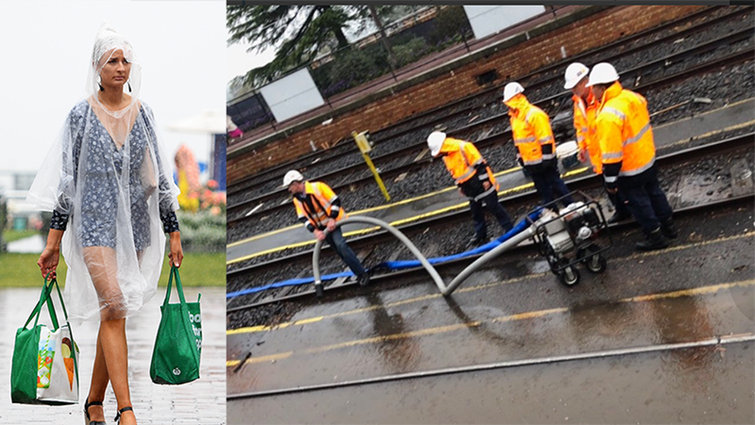Flemington Station Closed Due To Flooding, Serious Delays Getting To The Racecourse