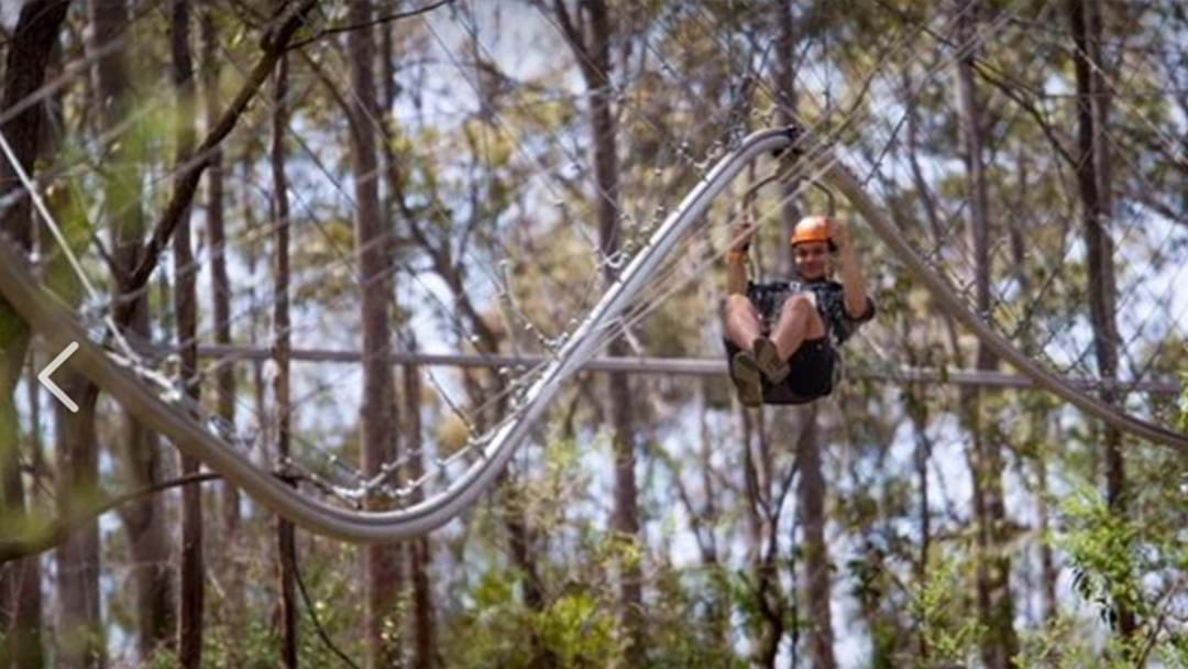 The World's Fastest Roller Coaster Zipline Is Now In Sydney