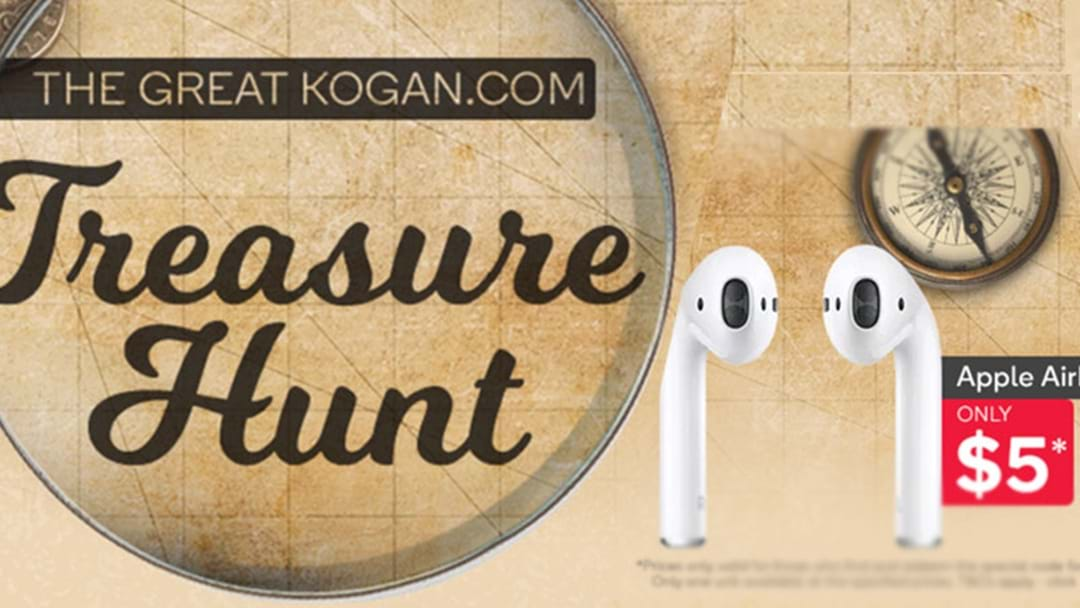 Kogan Has Air Pods For $5 & Even MORE If You Can Find Their HIDDEN Codes