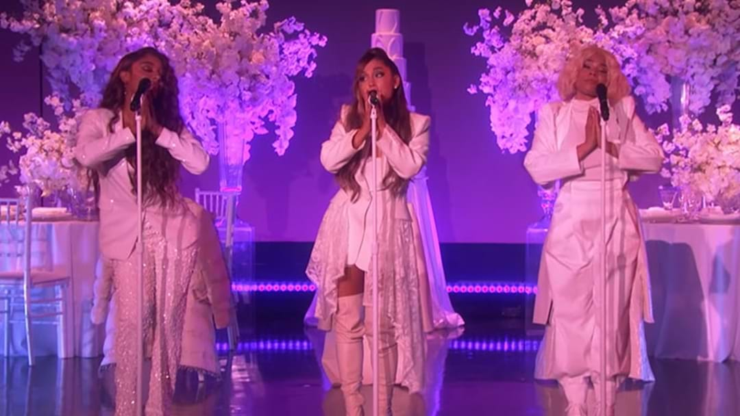 Ariana Grande's 'Thank U, Next' Performance On Ellen Was Emotional & Hilarious