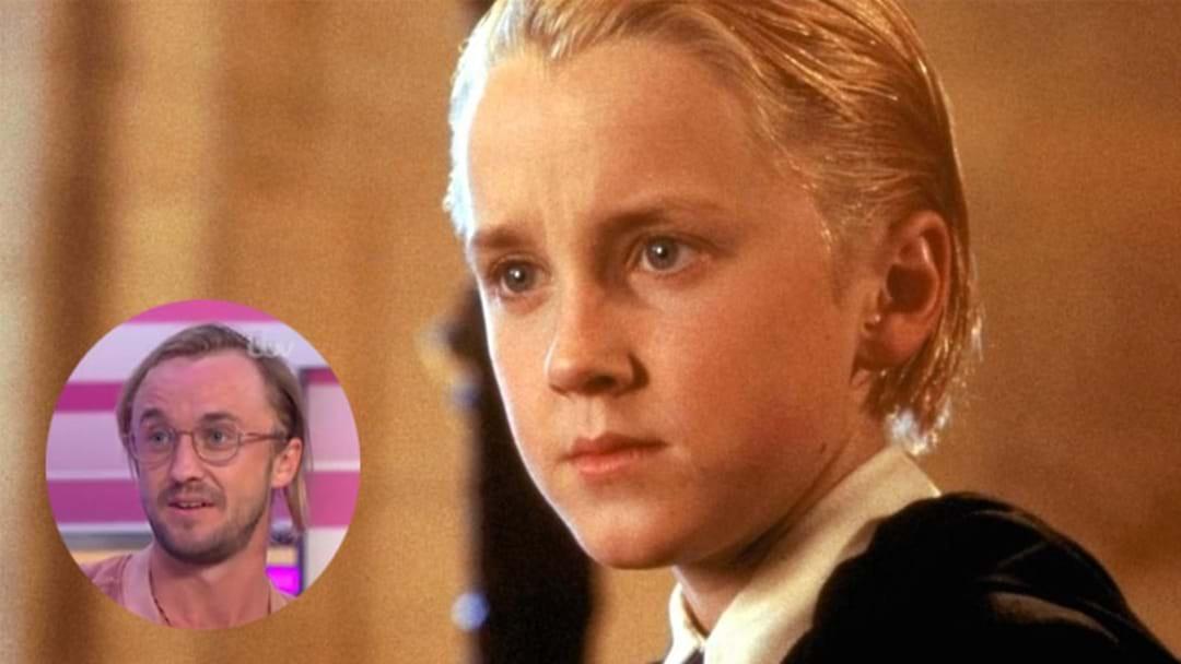 Ya Boy Tom Felton Has Shocked Draco Malfoy Fans With His New Look