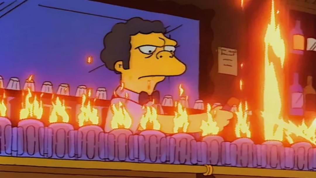 Order A 'Flaming Moe' At This Simpsons Pop-Up Bar