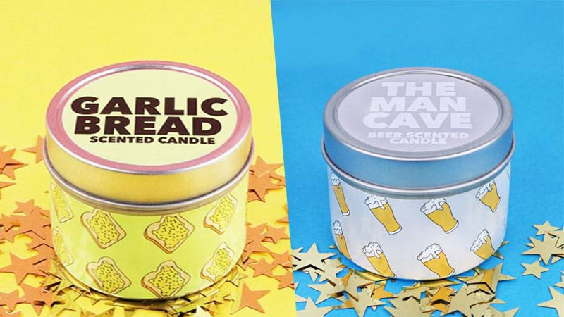 Article heading image for Fill ALL Your Christmas Stockings With These 'Garlic Bread' & 'Beer' Candles