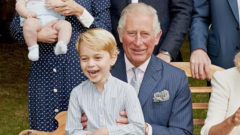 Article heading image for The Royal Family Pose In Adorable New Photos To Celebrate Prince Charles' 70th Birthday