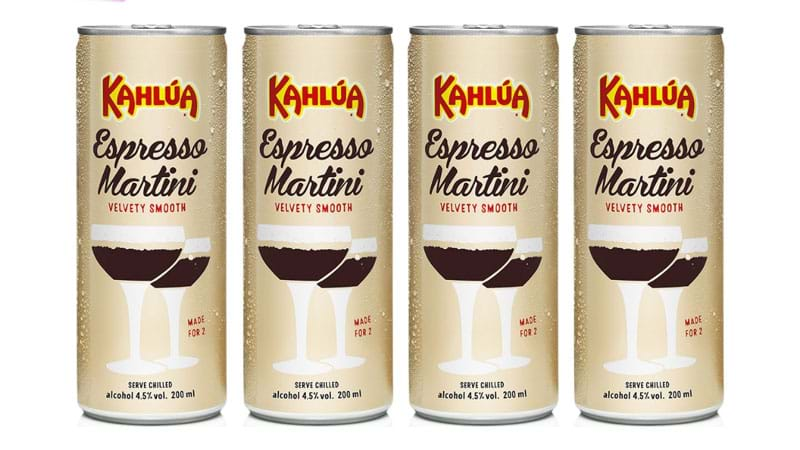 Article heading image for Kahlua Espresso Martini CANS Are Here To Shake, Not Stir, Up Your life