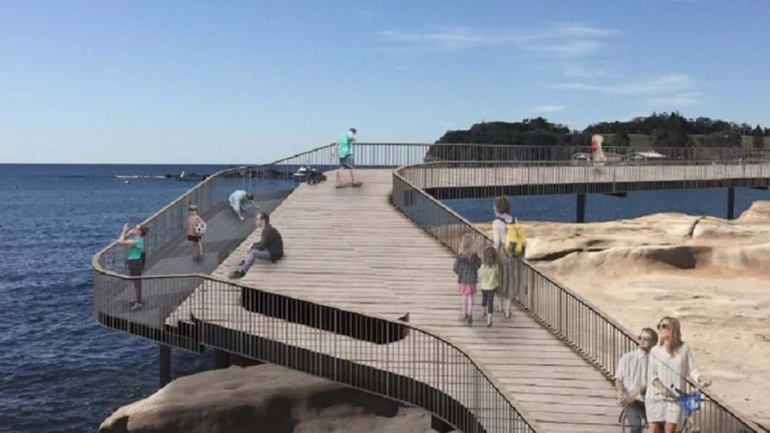 Designs Revealed For Boardwalk Linking Terrigal Beach To The Haven